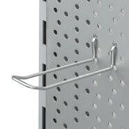 Подвійний гачок для перфорованої стінки