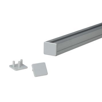 Заглушка для плакатного профілю 19 мм