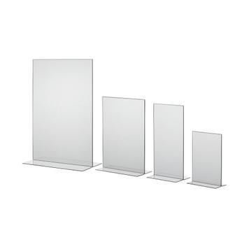 """Підставка під меню""""T-Form"""" в різних форматах, прозора, 1 мм"""