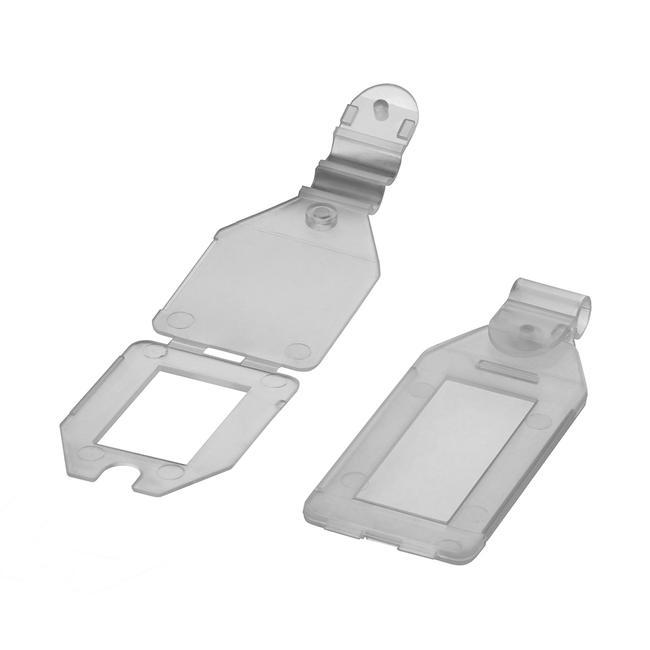 Пластиковий цінник для подвійного гачка