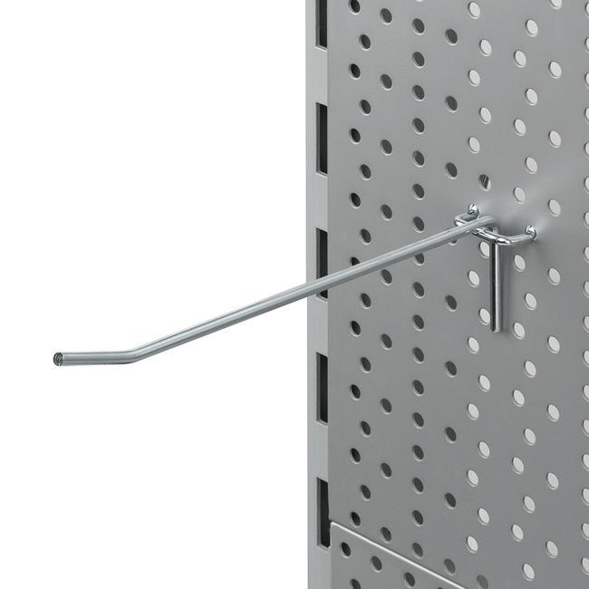 Гачок для перфорованої стінки, одинарний 4 мм