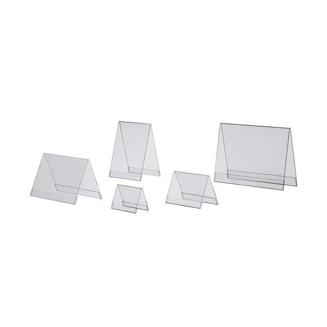 Акрилова настінна підставка для вставок стандартних форматів