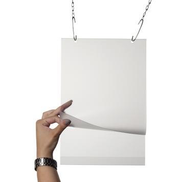 Карман для постера с отверстиями
